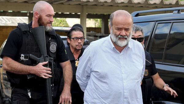 Detención del tesorero del Partido de los Trabajadores (PT), Joao Vaccari. 15 de abril de 2015 - Sputnik Mundo