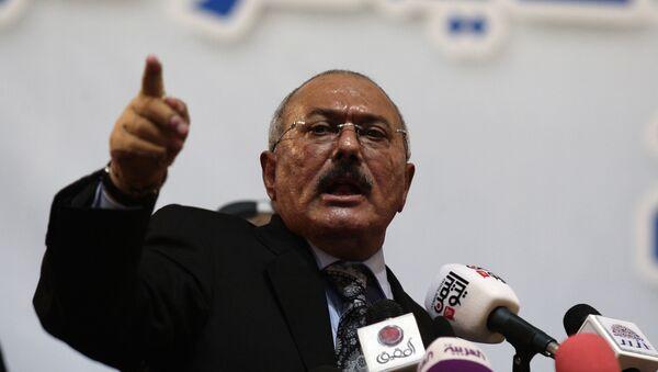 Alí Abdalá Saleh, expresidente de Yemen - Sputnik Mundo