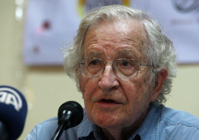Noam Chomsky, el filósofo estadounidense