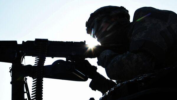 Paracaidista de la 173ª brigada del Ejército de EEUU (Archivo) - Sputnik Mundo