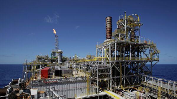 Buque-plataforma de Petrobras - Sputnik Mundo