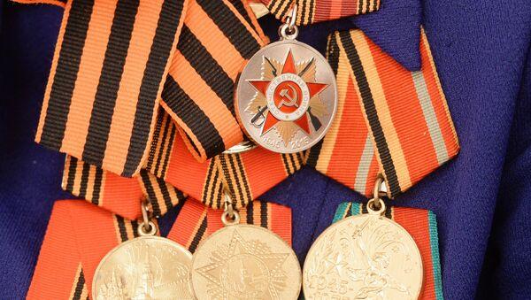 Вручение в Казани юбилейных медалей ветеранам войны к 70-летию Победы в ВОВ - Sputnik Mundo