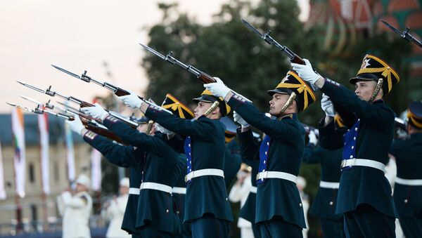 Международный военно-музыкальный фестиваль Спасская башня - Sputnik Mundo