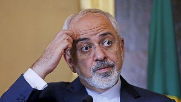 Mohammad Javad Zarif. ministro de Asuntos Exteriores de Irán - Sputnik Mundo
