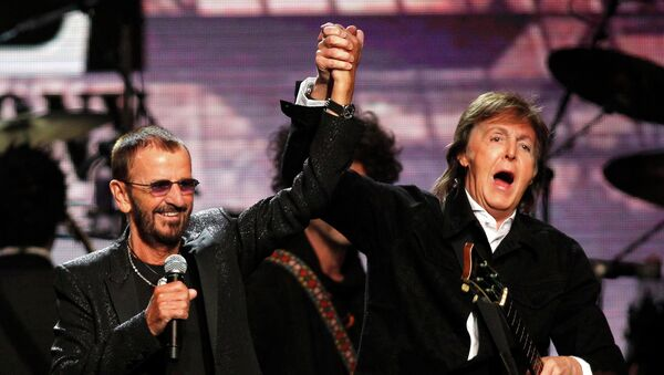 Ringo Starr y Paul McCartney - Sputnik Mundo