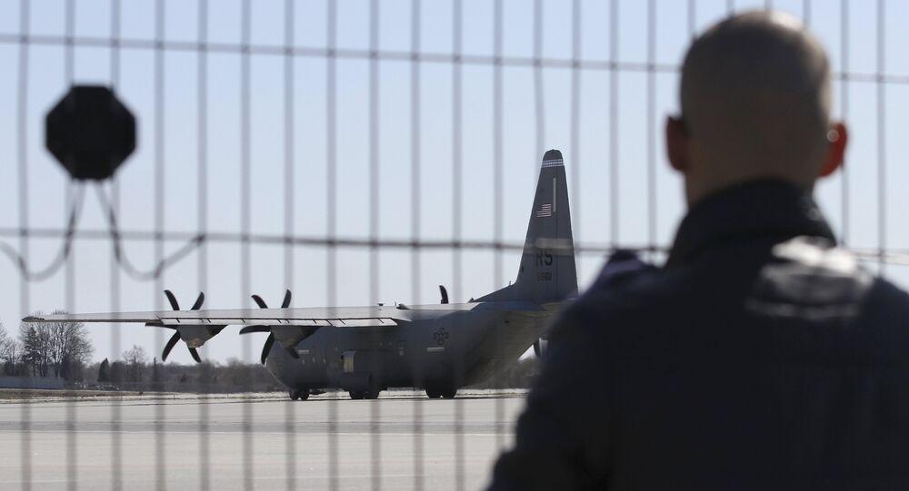 Avión Hercules C-130