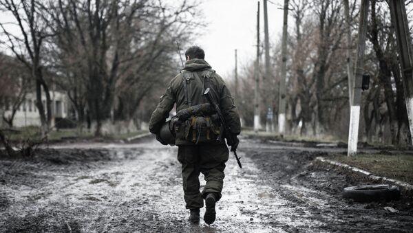 Miliciano de la RPD en Shirókino - Sputnik Mundo