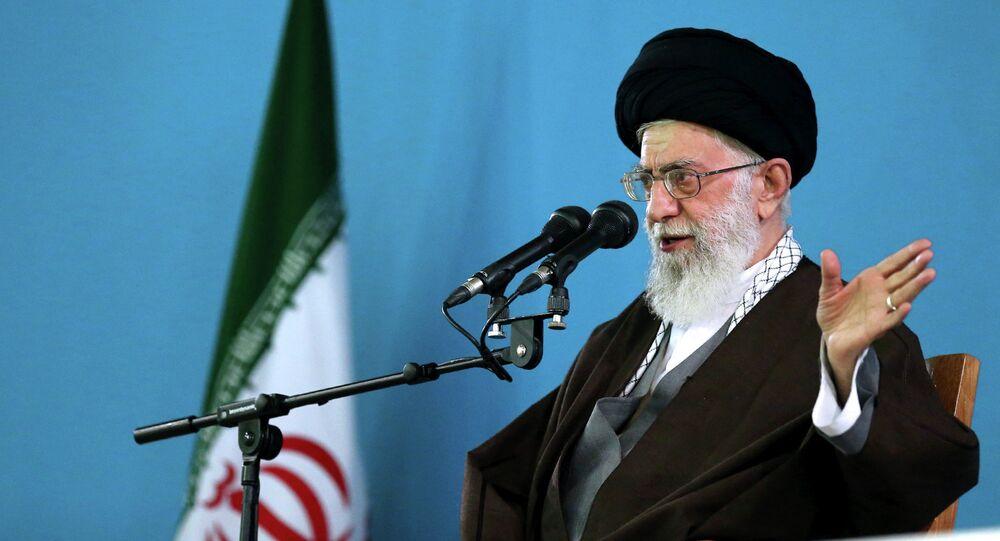 Ayatolá Alí Jameneí, líder supremo de Irán