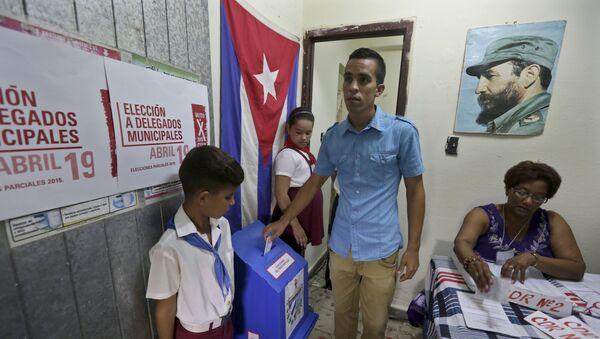 Yuniel López, opositor cubano - Sputnik Mundo