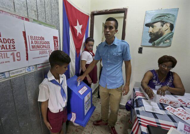 Yuniel López, opositor cubano
