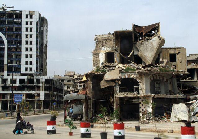 Homs, Siria (archivo)
