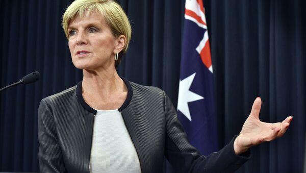 Julie Bishop, ministra australiana de Exteriores - Sputnik Mundo