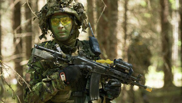Militar estonio - Sputnik Mundo