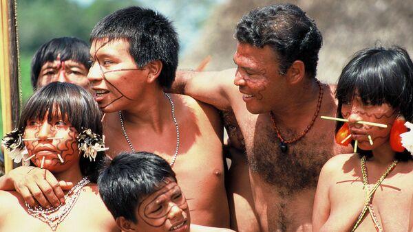 Los indios de la etnia yanomami - Sputnik Mundo