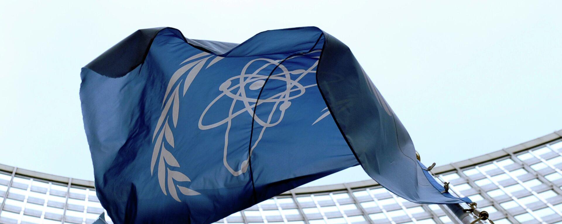 La bandera de la OIEA en Viena - Sputnik Mundo, 1920, 19.05.2021