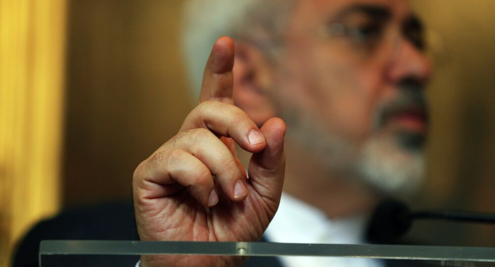 Mohammad Yavad Zarif, ministro de Exteriores de Irán