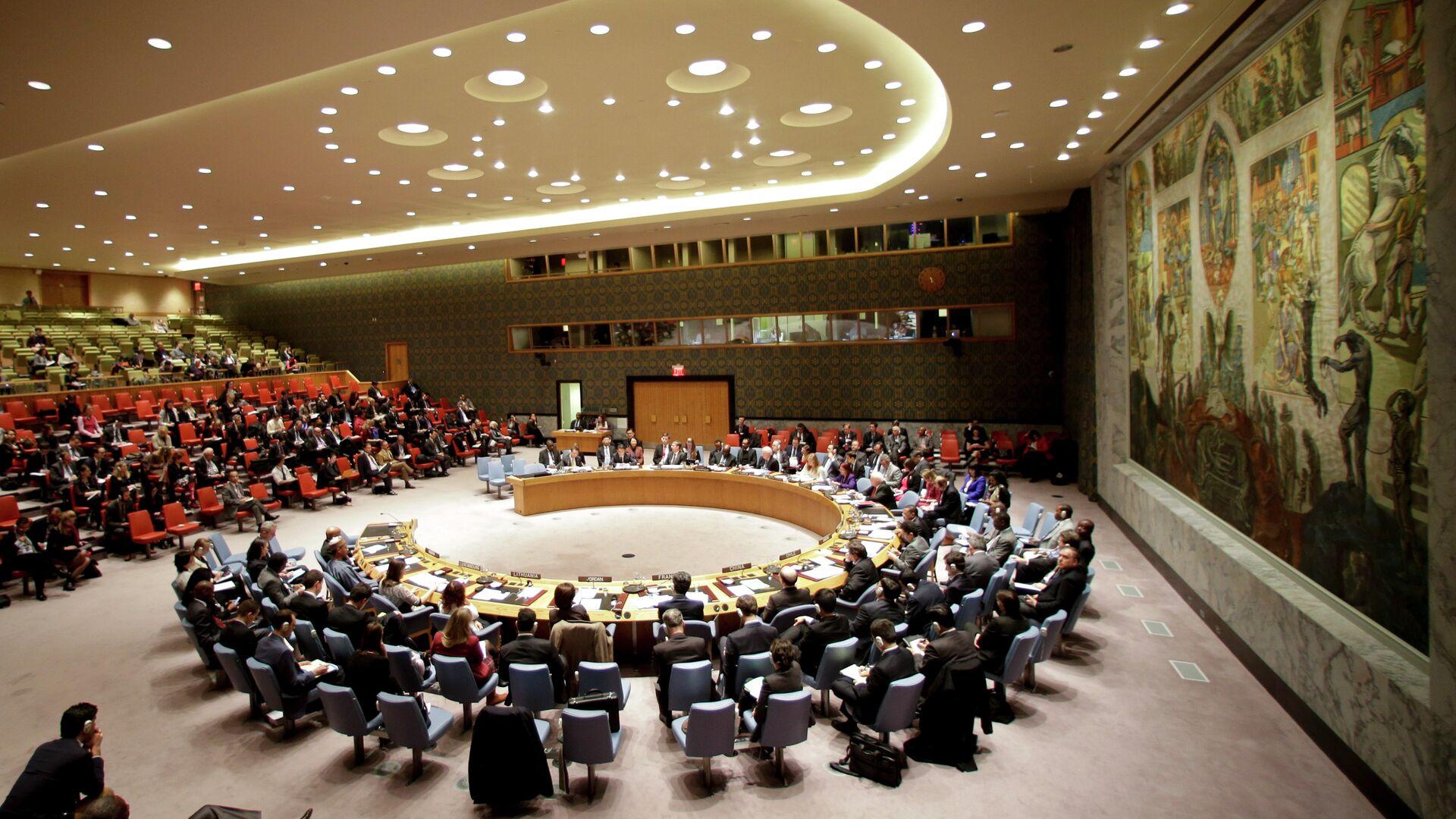 El Consejo de Seguridad de la ONU (archivo) - Sputnik Mundo, 1920, 13.05.2021