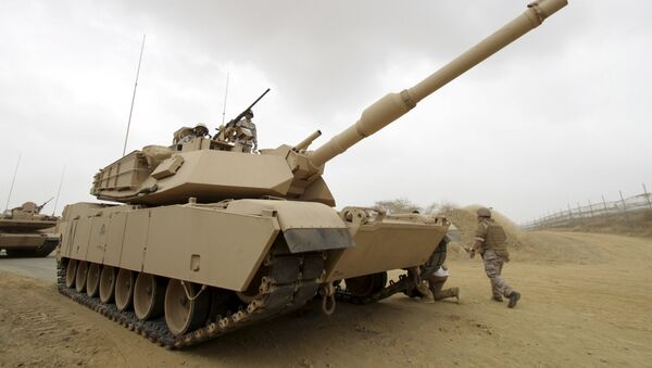 Militares saudíes cerca de la frontera con Yemen - Sputnik Mundo