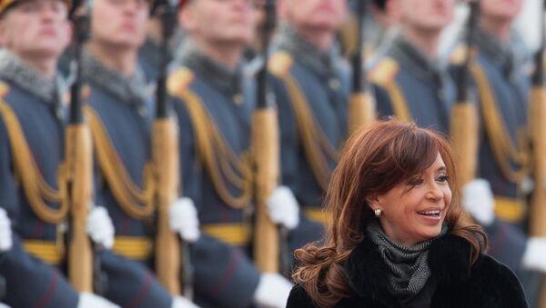 Cristina Fernádez de Kirchner, presidenta de Argentina - Sputnik Mundo