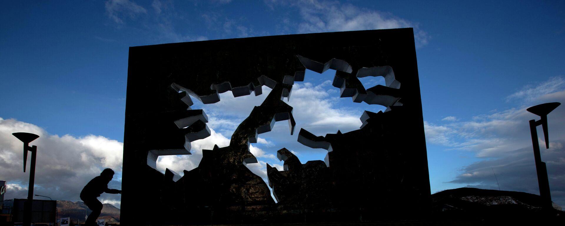 El memorial de guerra de las Malvinas en Ushuaia, Argentina - Sputnik Mundo, 1920, 10.06.2021