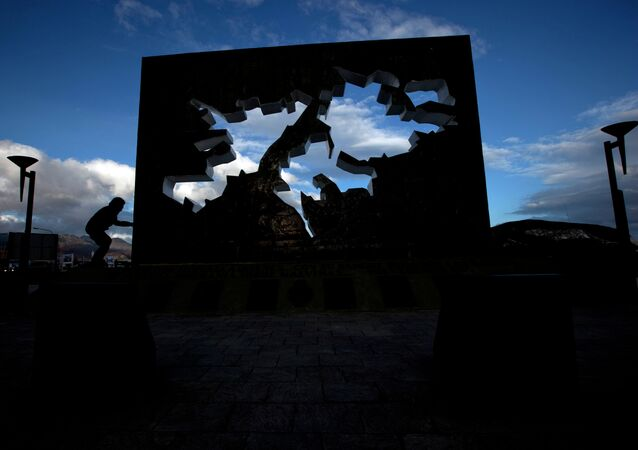 Monumento a los caídos en Malvinas (Ushuaia, Argentina)
