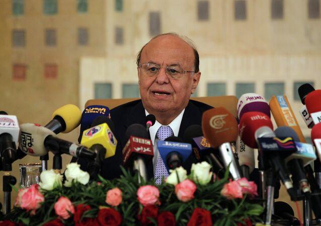 Abdo Rabu Mansur Hadi, presidente de Yemen