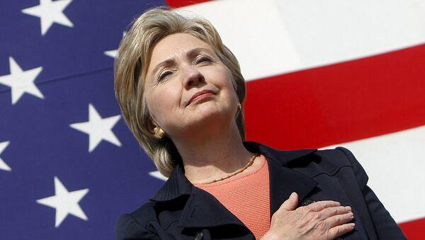 Hillary Clinton, candidata oficial del Partido Demócrata - Sputnik Mundo