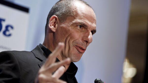 Yanis Varufakis, ministro griego de Finanzas - Sputnik Mundo