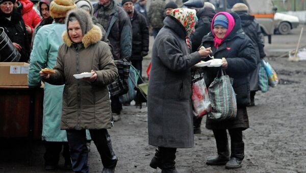 Civiles en Donbás - Sputnik Mundo