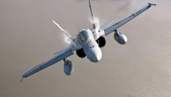 F-18 finlandés - Sputnik Mundo