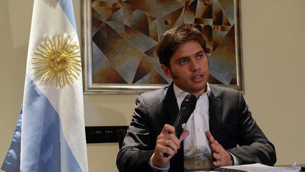 Axel Kicillof, ministro de Economía de Argentina - Sputnik Mundo