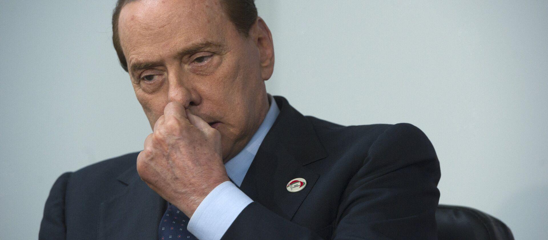 Silvio Berlusconi - Sputnik Mundo, 1920, 17.03.2019