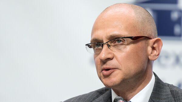Serguéi Kirienko, director general de la corporación estatal rusa Rosatom - Sputnik Mundo