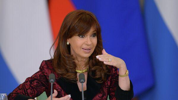Cristina Fernández de Kirchner, presidenta de Argentina - Sputnik Mundo
