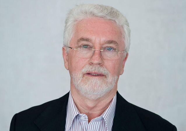 Joao Antonio Felicio, presidente de la Confederación Sindical Internacional (CSI)