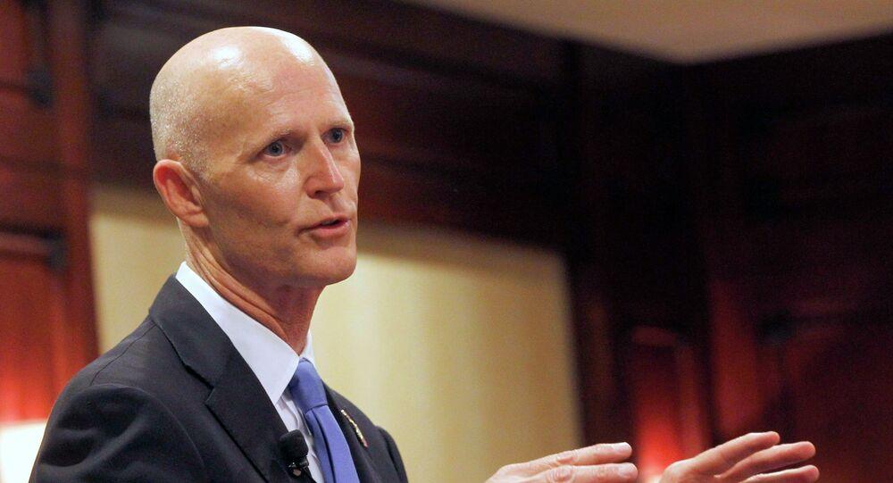 Rick Scott, el gobernador del estado de Florida