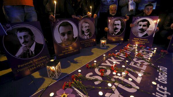 A principios del siglo XX en Turquía tuvo lugar una matanza organizada de 1,5 millones de armenios - Sputnik Mundo