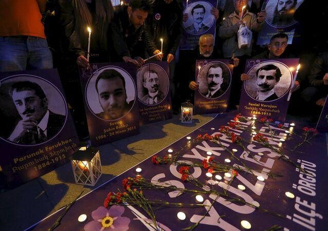 A principios del siglo XX en Turquía tuvo lugar una matanza organizada de 1,5 millones de armenios