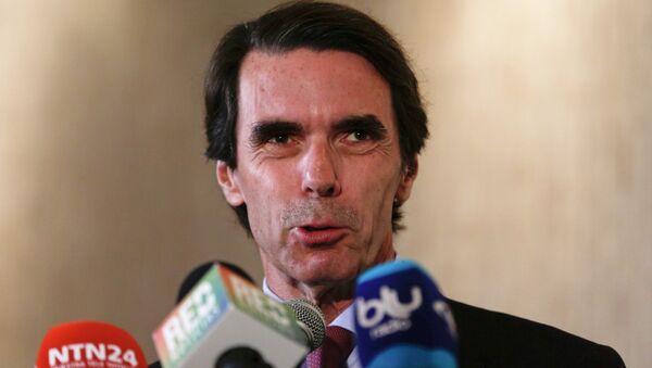 José María Aznar, ex primer ministro de España - Sputnik Mundo