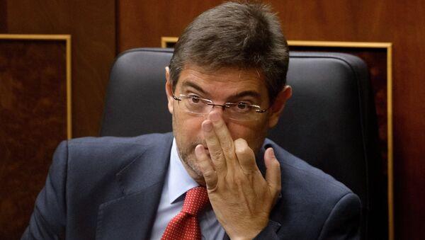 Rafael Catalá, ministro de Justicia de España - Sputnik Mundo