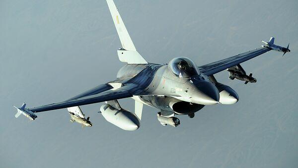 F-16 de la Fuerza Aérea de Bélgica - Sputnik Mundo