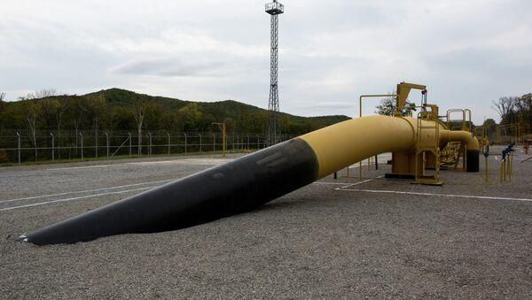 Gasoducto en Siberia - Sputnik Mundo