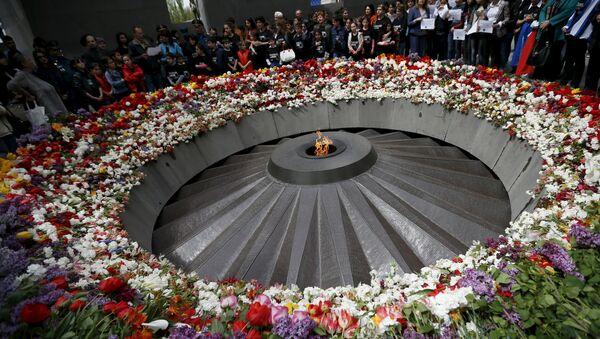 Museo de la memoria del genocidio en Yerevan - Sputnik Mundo