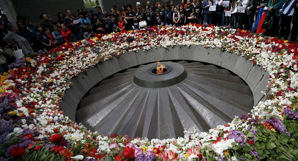 Museo de la memoria del genocidio en Yerevan