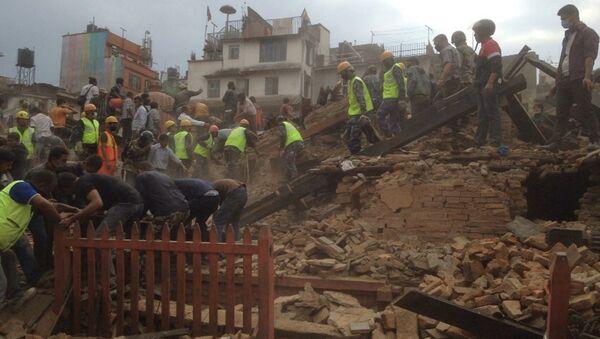 Terremoto en Kathmandu - Sputnik Mundo