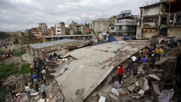 Situación en Kathmandu - Sputnik Mundo