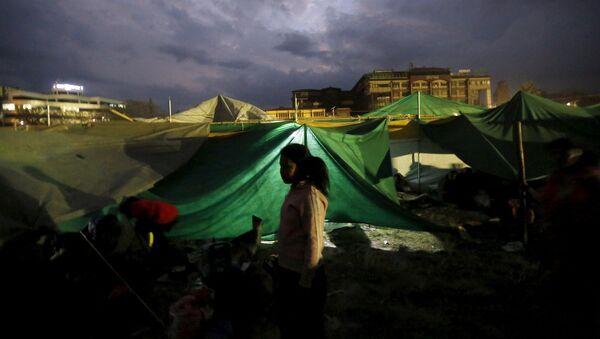 Situación en Nepal después del terremoto - Sputnik Mundo