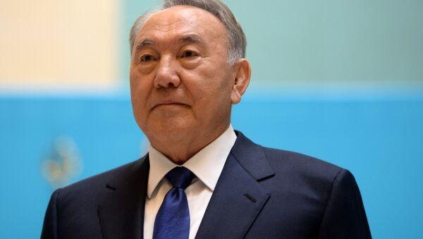El presidente de Kazajistán, Nursultán Nazarbáev - Sputnik Mundo