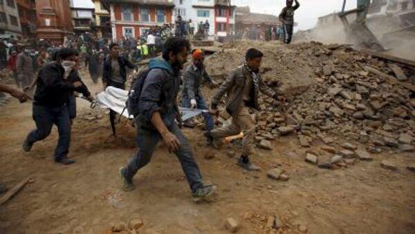 Ciudad destruida: Katmandú tras el terremoto - Sputnik Mundo