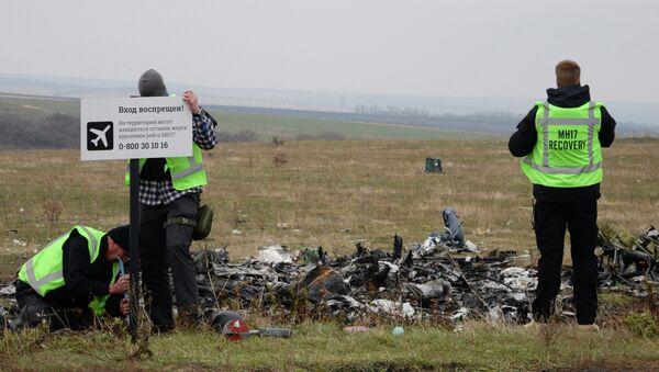 Alemania sabía del peligro para los vuelos sobre Donbás antes del siniestro del MH17 - Sputnik Mundo